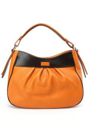 Сумка D.Angeny. Цвет: оранжевый