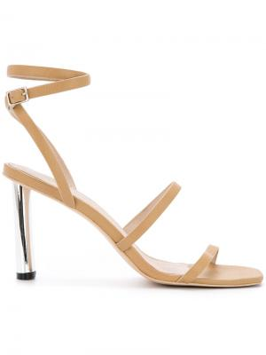 Natural Selection heel sandals Manning Cartell. Цвет: телесный