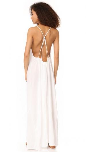 Макси-платье Key West 9seed. Цвет: белый