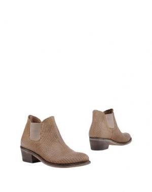 Полусапоги и высокие ботинки SEBOY'S. Цвет: голубиный серый