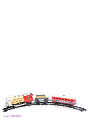 Железная дорога Николаевский экспресс 1Toy. Цвет: красный, золотистый, черный