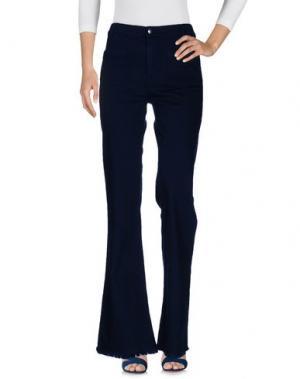 Джинсовые брюки THE SEAFARER. Цвет: темно-синий