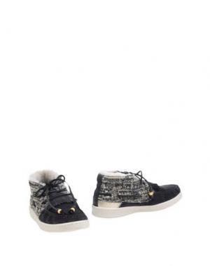 Полусапоги и высокие ботинки DOLFIE. Цвет: стальной серый