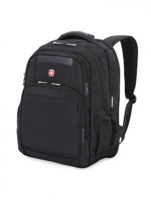 Рюкзак ScanSmart 15 WENGER. Цвет: черный