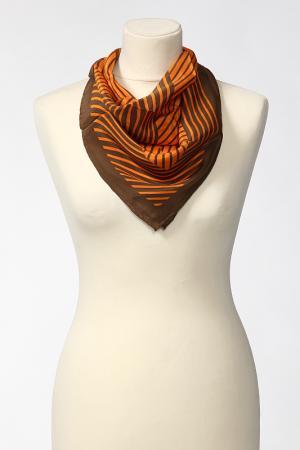 Платок Frantelli. Цвет: оранжевый, коричневый