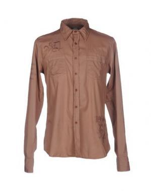 Pубашка DATCH. Цвет: светло-коричневый