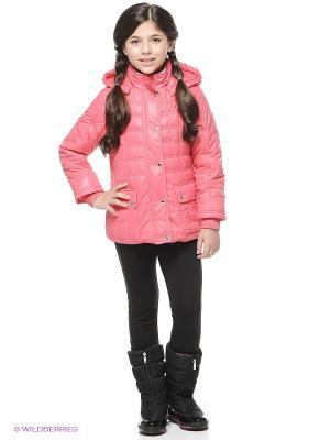 Куртка SAIMA. Цвет: коралловый