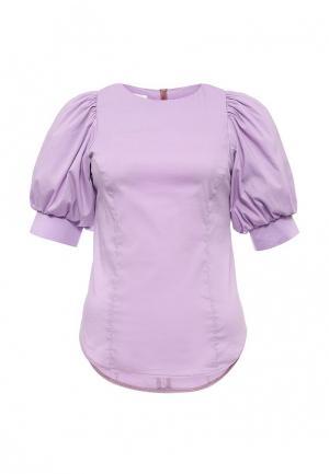 Блуза Tutto Bene. Цвет: фиолетовый
