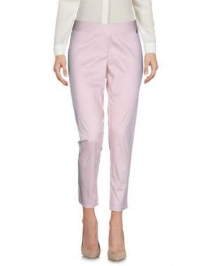 Повседневные брюки JUST FOR YOU. Цвет: розовый