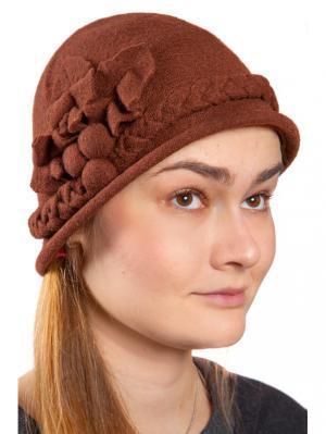 Шляпа Three S. Цвет: коричневый