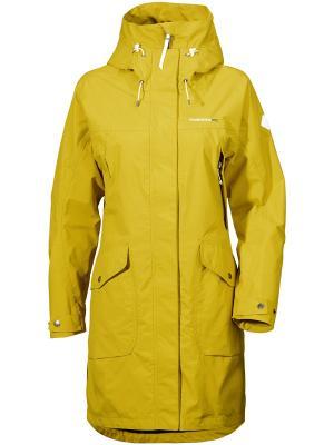 Куртка Thelma DIDRIKSONS. Цвет: желтый