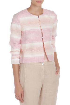 Пиджак iBLUES. Цвет: розовый, белый