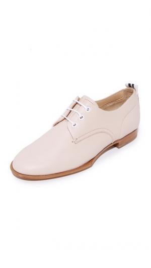 Ботинки на шнурках Audrey Rag & Bone. Цвет: розовый