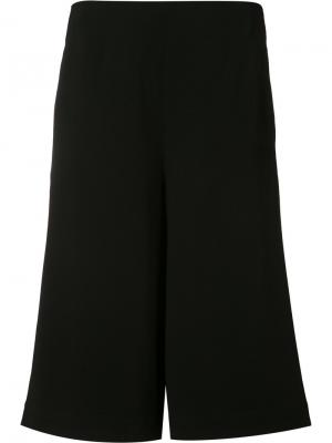 Cropped flared trousers Robert Rodriguez. Цвет: чёрный
