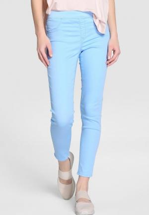 Леггинсы Southern Cotton Jeans. Цвет: голубой