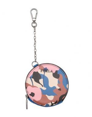 Кошелек для монет FURLA. Цвет: синий