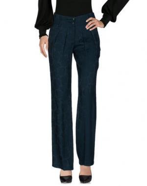 Повседневные брюки LIST. Цвет: темно-зеленый