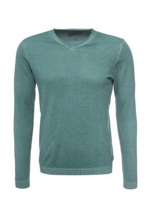 Пуловер Frank NY. Цвет: бирюзовый