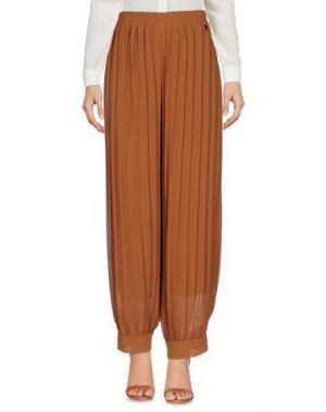 Повседневные брюки SOUVENIR. Цвет: коричневый
