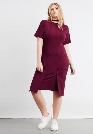 Платье LOST INK PLUS. Цвет: фиолетовый