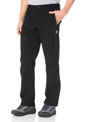 Спортивные брюки POLARINO. Цвет: черный