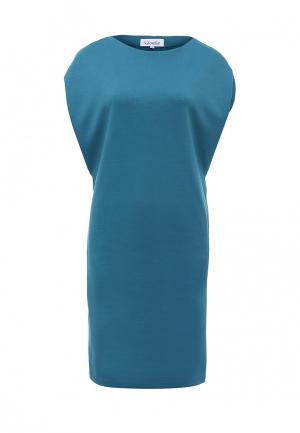 Платье Voielle. Цвет: бирюзовый