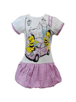 Платье Tocka. Цвет: сиреневый