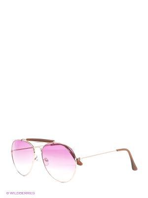 Солнцезащитные очки Funky Fish. Цвет: коричневый