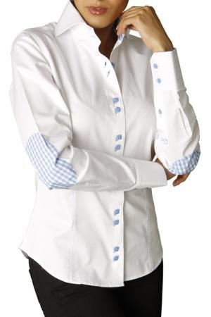 Рубашка GAZOIL. Цвет: white