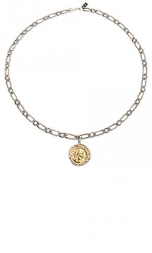 Ожерелье aurelian coin Child of Wild. Цвет: металлический золотой