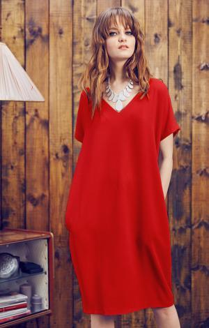 Платье Красное Trends Brands Base