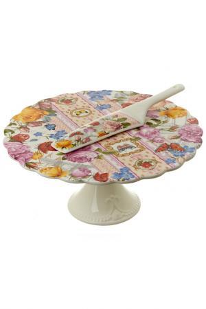 Подставка для торта, 27,5 см Nouvelle. Цвет: мультицвет
