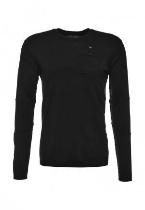Пуловер MeZaGuz. Цвет: черный