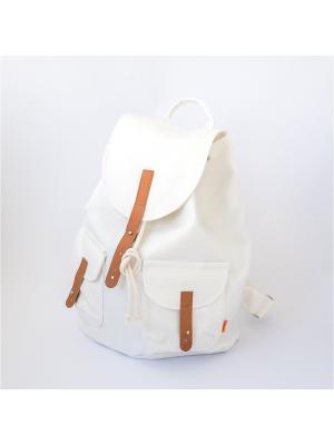 Городской рюкзак TIMBAG. Цвет: прозрачный, белый