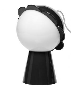 Настольная лампа QEEBOO. Цвет: черный