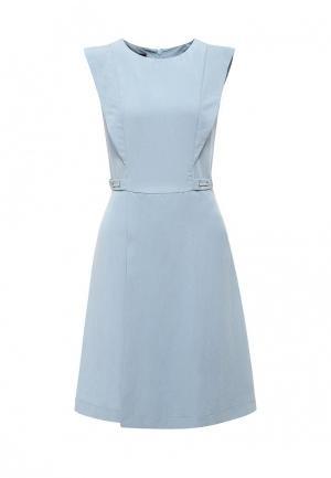 Платье Emka. Цвет: голубой