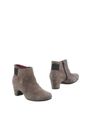 Полусапоги и высокие ботинки MELLUSO. Цвет: серый