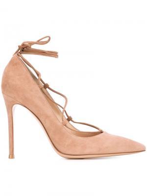 Туфли-лодочки Femi Gianvito Rossi. Цвет: коричневый