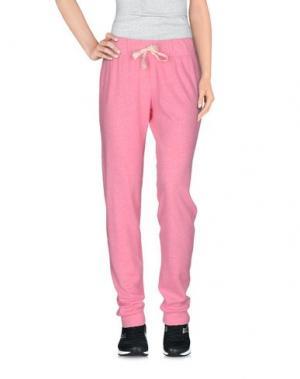 Повседневные брюки JUVIA. Цвет: светло-фиолетовый