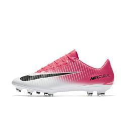 Футбольные бутсы для игры на твердом грунте  Mercurial Vapor XI Nike. Цвет: розовый