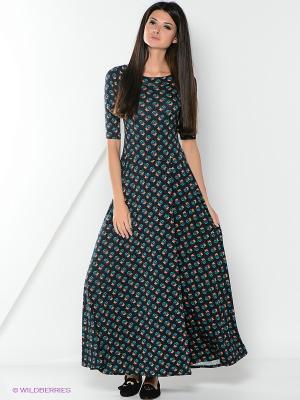 Платье Alina Assi. Цвет: темно-синий