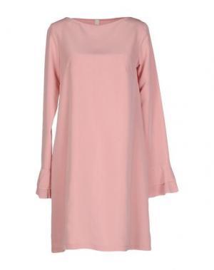 Короткое платье SOUVENIR. Цвет: розовый
