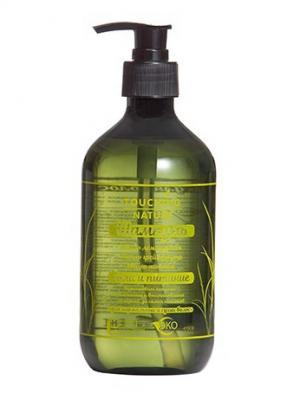 Экологичный шампунь Touching Nature 500 мл. Цвет: темно-зеленый