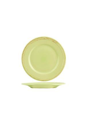 Набор тарелок десертных АЛЕСИЯ H&H. Цвет: салатовый