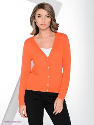 Кардиган Yuka. Цвет: оранжевый