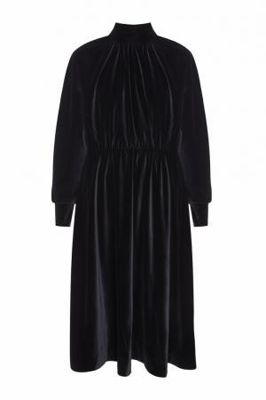Вельветовое платье Velvet Victoria A.W.A.K.E.. Цвет: черный