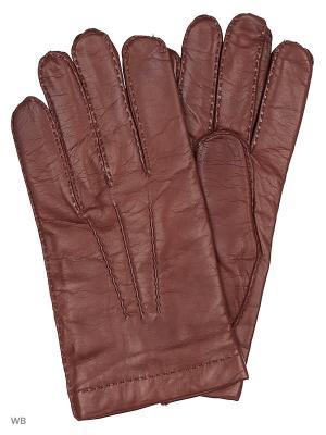 Перчатки Malo. Цвет: светло-коричневый