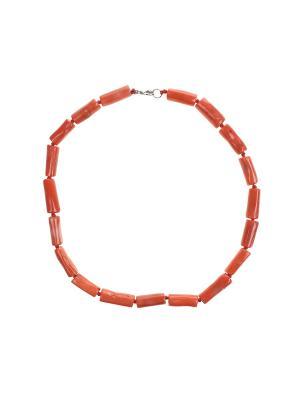 Колье Olere. Цвет: оранжевый