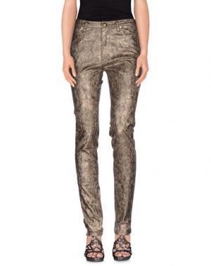 Джинсовые брюки GAI MATTIOLO JEANS. Цвет: зеленый-милитари