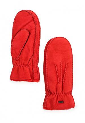 Варежки Fabretti. Цвет: красный